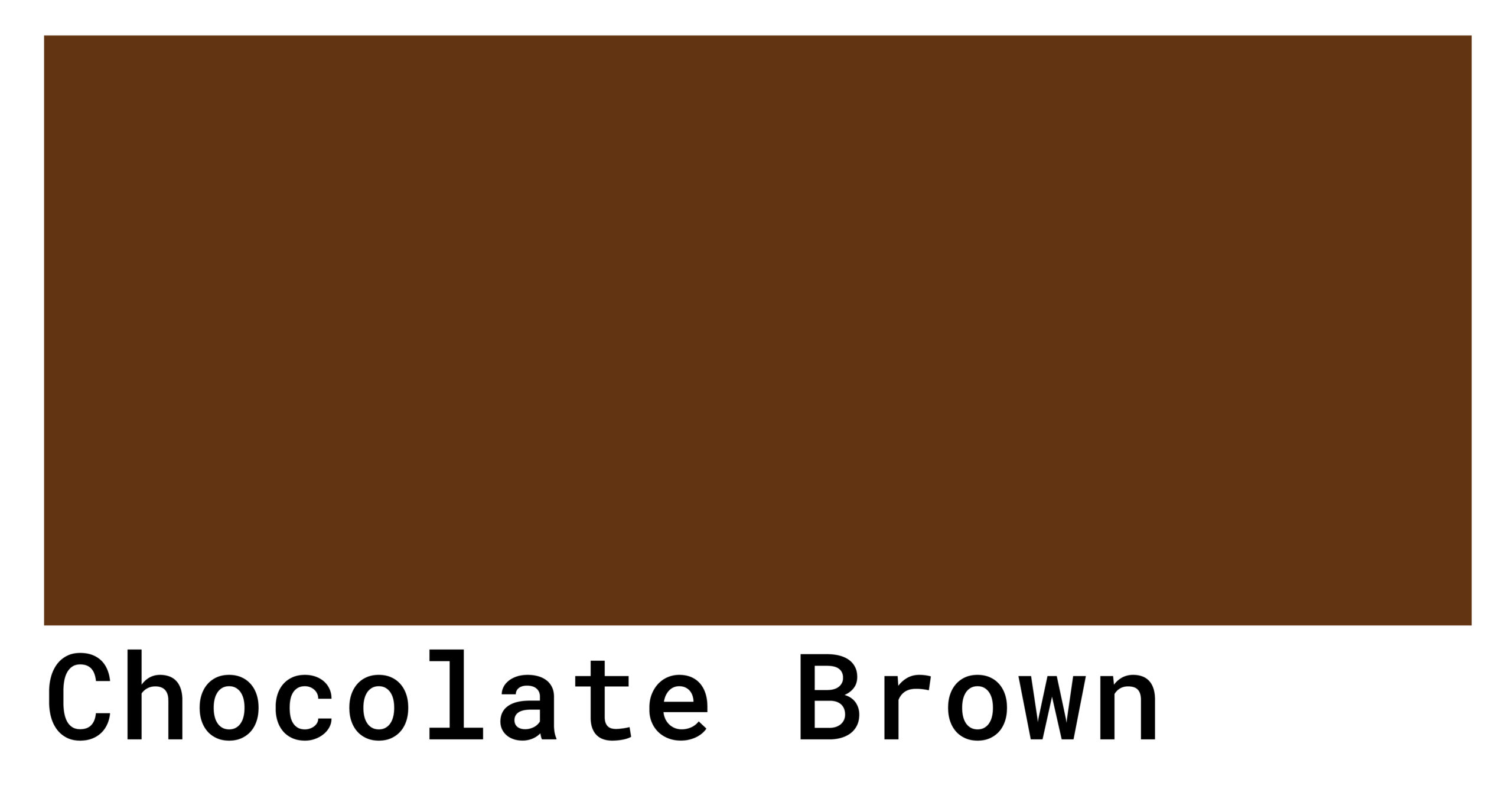 chocolate brown color code