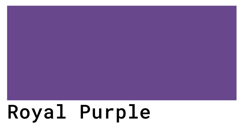 royal purple color code