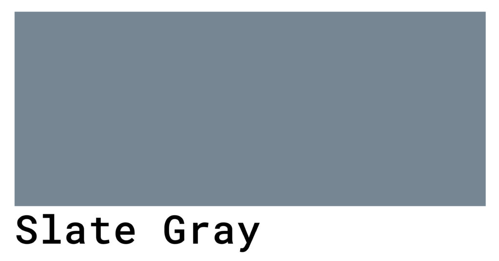 slate gray color swatch