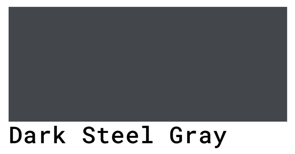 dark steel gray