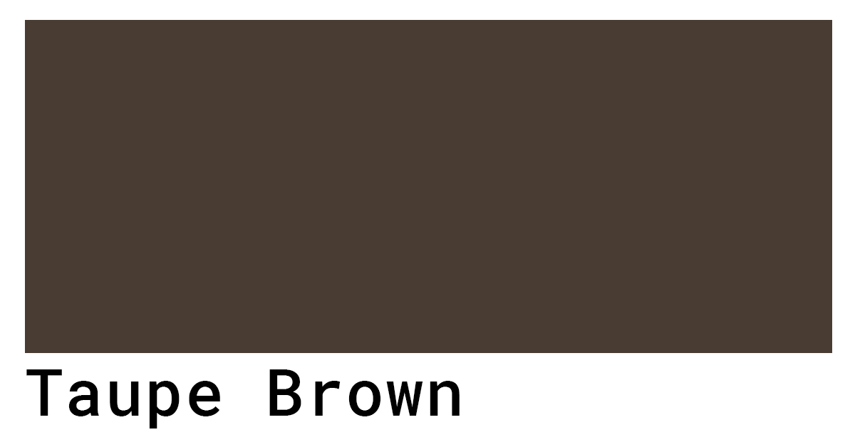 taupe brown