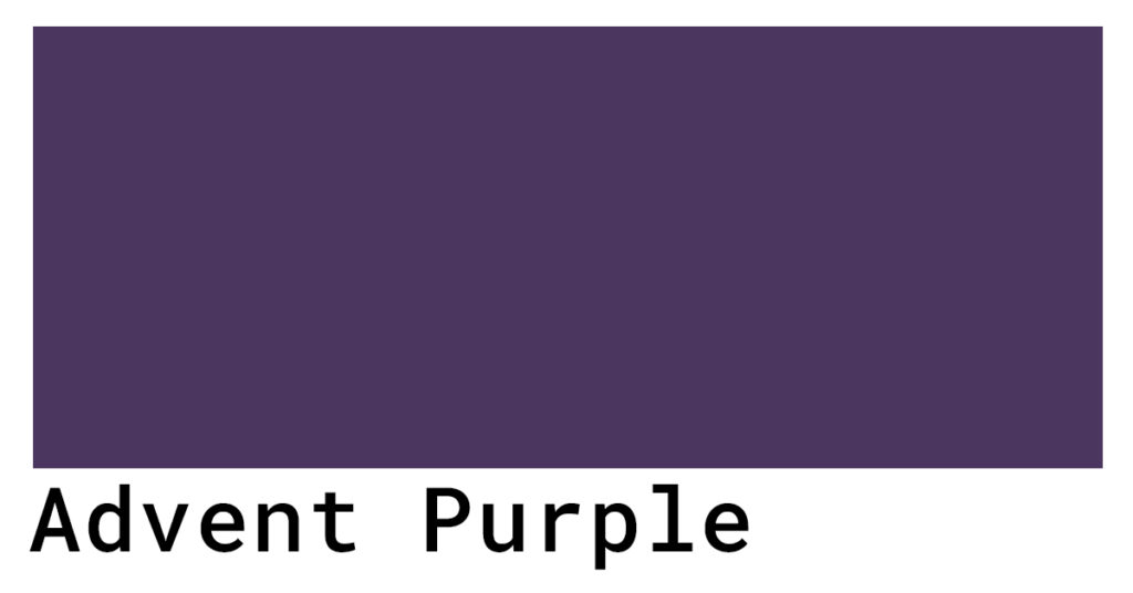 advent purple