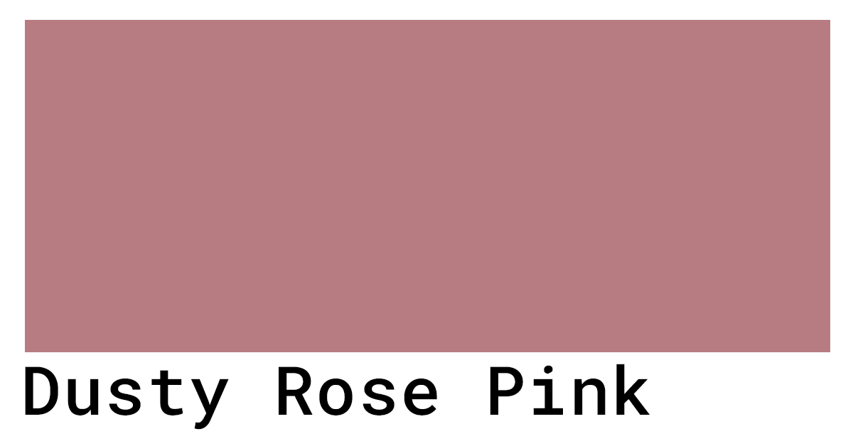 dusty rose hex