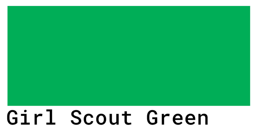 girl scout green