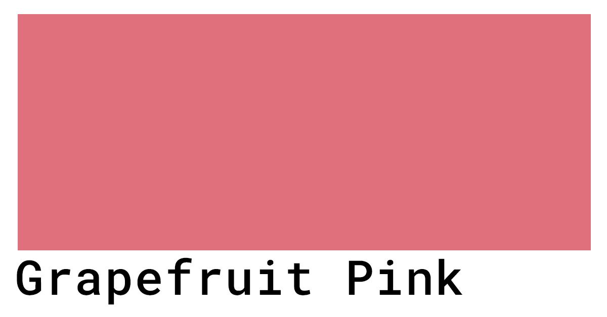 grapefruit pink hex