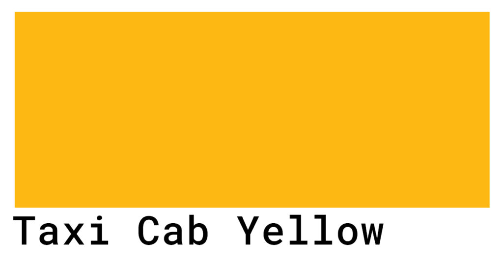 taxi cab yellow
