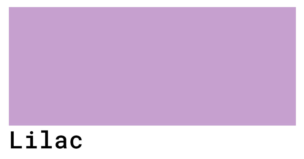 lilac hex color codes swatch