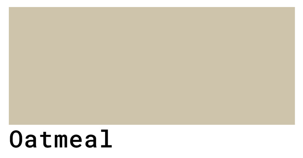 oatmeal hex color codes